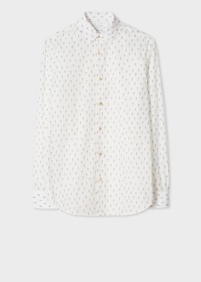 Paul Smith Men's Tailored-Fit 'Explorer' Print Shirt