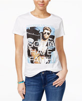 NTD Juniors' Gotta Have Faith Graphic Cotton T-Shirt