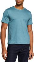 Il Borgo For Neiman Marcus Men's Short Sleeve Solid T-Shirt