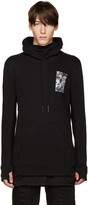 11 By Boris Bidjan Saberi Black Patch Hoodie