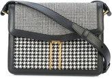 Hayward mini H crossbody bag - women - Wool/Calf Suede - One Size
