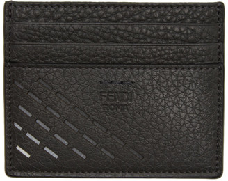 Fendi Grey Degrade Card Holder