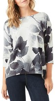 Phase Eight Alcina Leaf-Print Sweater