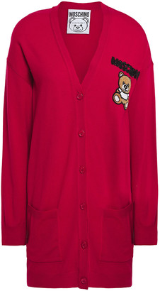 Moschino Embellished Wool Cardigan