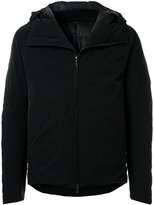 Attachment zipped fitted jacket