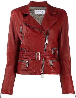 Sylvie Schimmel Lamb Skin Biker Jacket