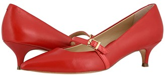 Vionic Minnie Leather Patent (Cherry) Women's Shoes