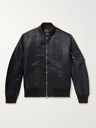 Rag & Bone Manston Nylon Bomber Jacket