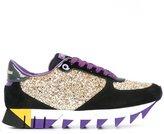 Dolce & Gabbana 'Capri' sneakers - women - Leather/Suede/PVC/rubber - 38.5