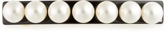Alexandre de Paris Imitation Pearl Embellished Barrette