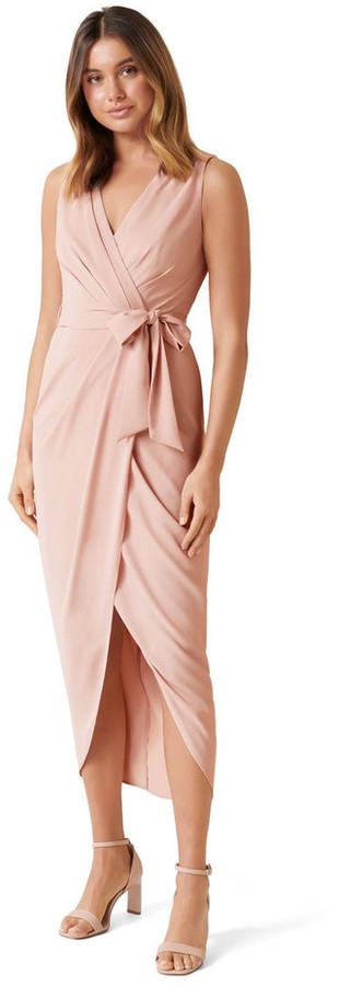 Forever New Liza Wrap Midi Dress