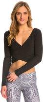 Alo Yoga Alo Amelia Long Sleeve Yoga Crop Top 8136583