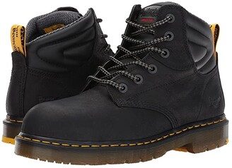Dr. Martens Work Hynine ST (Black Overlord/Black Soft PU) Boots