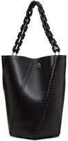 Proenza Schouler Black Medium Hex Bucket Bag
