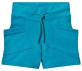 Gugguu Turquoise Blue College Shorts