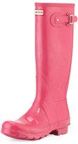 Hunter Original Tall Gloss Rain Boot, Bright Cerise