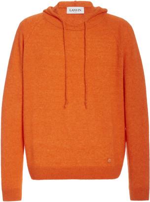 Lanvin Hooded Alpaca-Blend Sweater