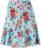 Dolce & Gabbana floral print skirt - women - Silk/Spandex/Elastane - 42