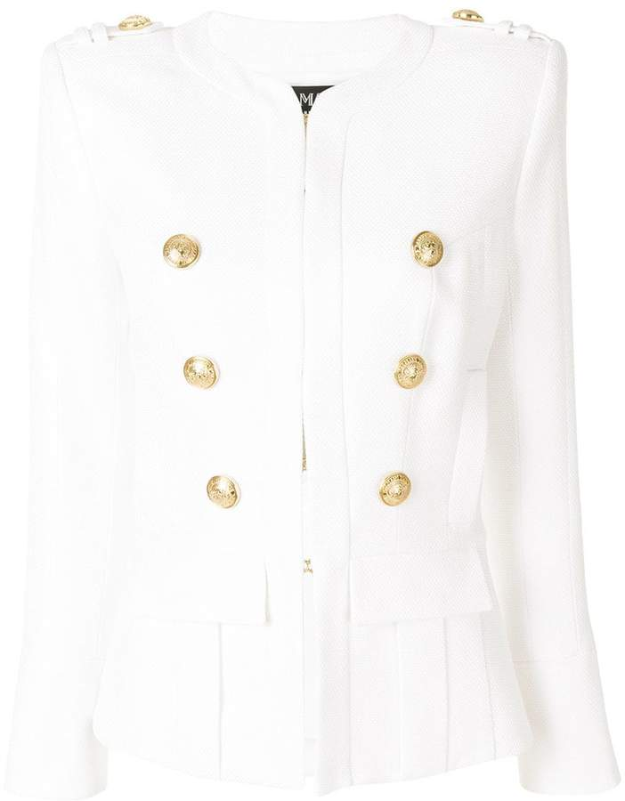 Balmain fitted double-button blazer