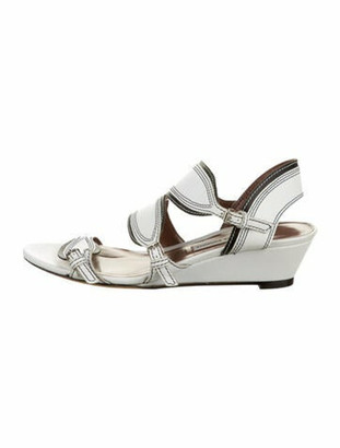 Tabitha Simmons Calen Leather Sandals White