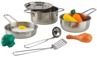 Kid Kraft Deluxe Cookware Set with Food
