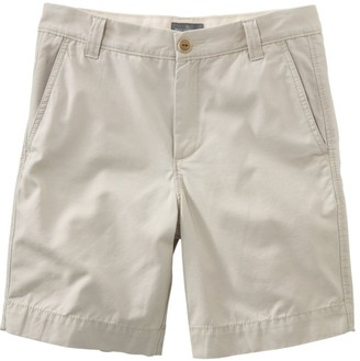 "L.L. Bean Men's Signature Washed-Canvas Cloth Shorts, Slim Straight 8"""
