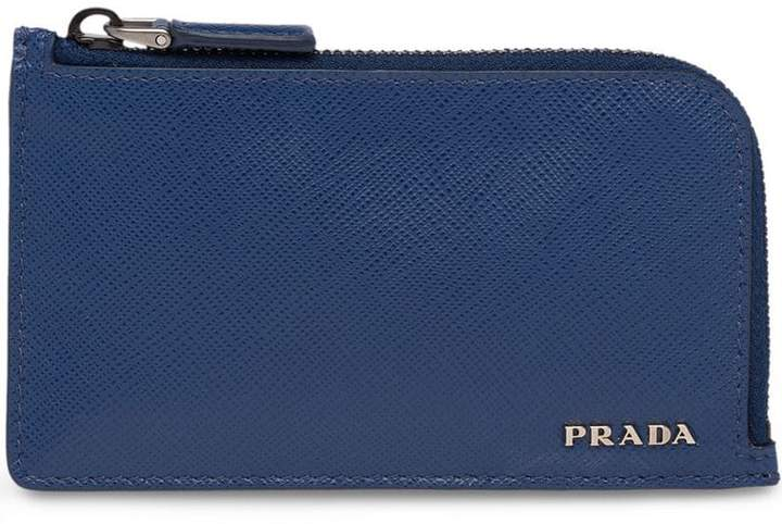 9c74a08365eb Prada Blue Men's Wallets - ShopStyle