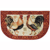JCP HOME JCPenney HomeTM Bohemian Rooster Washable Kitchen Rug