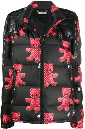 Philipp Plein Teddy quilted jacket