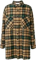 Faith Connexion checked shirt-style coat