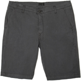 DSTLD Slim Chino Shorts in Charcoal