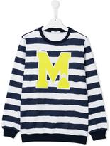 MSGM striped sweatshirt