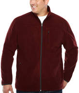 THE FOUNDRY SUPPLY CO. The Foundry Big & Tall Supply Co. Midweight Fleece Jacket - Big and Tall