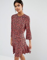 Whistles Anjelica Dress In Cherry Print