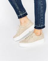 Asos DAY TRIP Flatform Sneakers