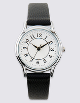 M&S Collection Elegant Round Face Watch