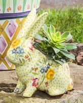 Mackenzie Childs MacKenzie-Childs Rabbit Planter