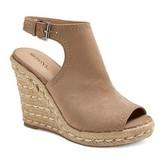Merona Women's Mala Shield Espadrille Wedge Sandals