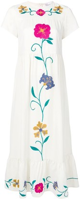 RED Valentino embroidered floral dress