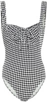 Solid & Striped The Ellery gingham swimsuit