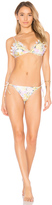 Zimmermann Valour Embroidered Frill Bikini Set