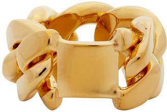 Bottega Veneta Gold Chain Ring