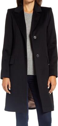 Fleurette Notch Collar Walking Coat