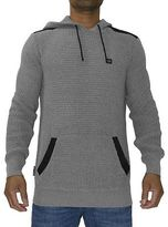 Voi Jeans New Mens Designer Derrick AW16 Charcoal Marl Jumper Sweat