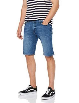 Q/S designed by Men's 47.906.72.4902 Hose Kurz Short, (Denim Blue 54z6), 16 (Size: )