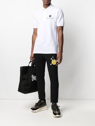 Philipp Plein Logo-Patch Short-Sleeved Polo Shirt