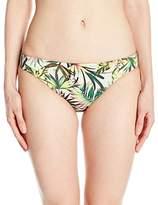 Lucky Brand Junior's Coastal Palms Skimpy Hipster Bikini Bottom