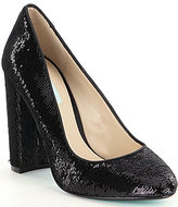 Betsey Johnson Blue by Lou Sequin Pumps