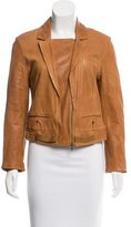 Diane von Furstenberg Brutus Leather Jacket
