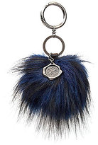 Patricia Nash Faux-Fur Key Fob